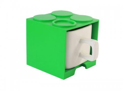 可愛上班休閒時尚 馬克杯 大/小 - 綠色