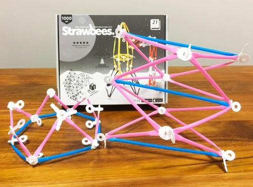 Strawbees教學:皇冠、手臂DIY