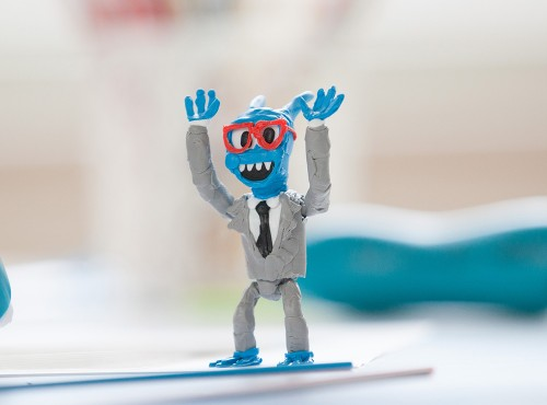 3Doodler Start 3D列印筆 機器人組合