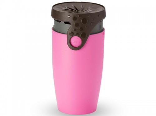 法式密封馬克杯 - Pink14